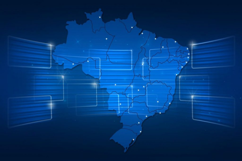 bigstock Brazil Map World Map News Comm 78959461