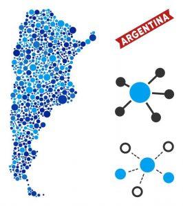 bigstock Web Argentina Map Mosaic Abst 250945615